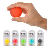 Squeeze ball with packaging