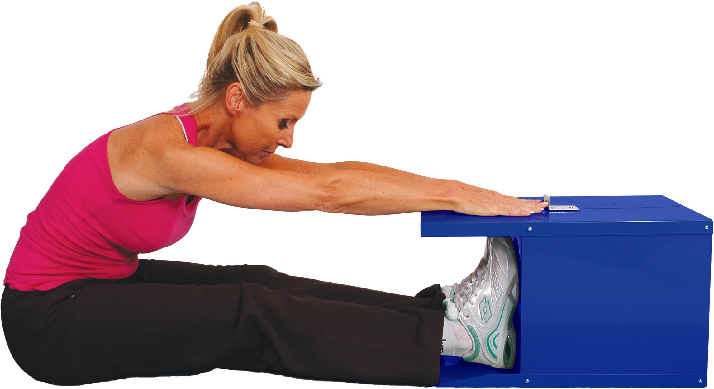 08-060103 - Sit & Reach Unit Blue - MVS In Motion | Health ...